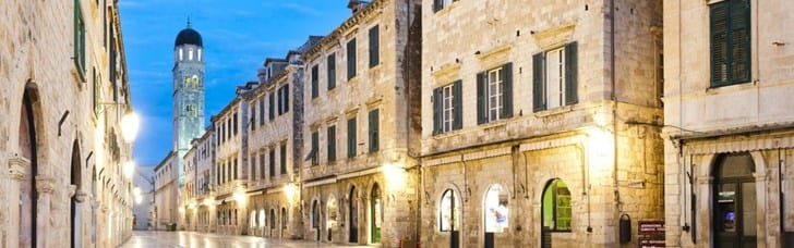 Old city of Dubrovnik is under the patronage of UNESCO